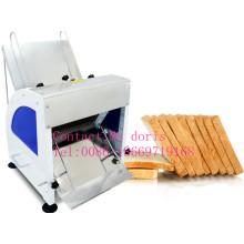 Rebanadora caliente del pan de la venta, máquina que corta de la gota