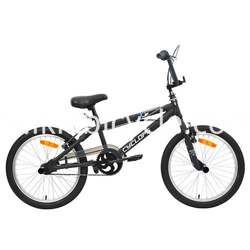 Black Mountain Bike Steel