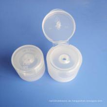 Flip-Top-Kunststoffdeckel Schraube Plastikflaschendeckel