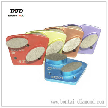 3-M6 Grinding pad for Concrete and Terrazzo Two Segments, OEM/ODM Orders are Welcome