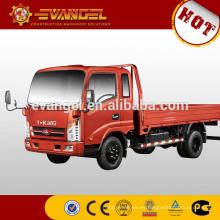 Camión volquete de 5 toneladas Camión volquete de alta calidad T-king con grúa a la venta