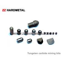 Carbide de tungstênio Botões de mineração Brocas Ferramentas de mineração