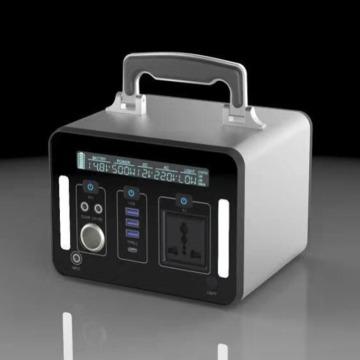 500 W tragbarer Smart Li Ionen Akku