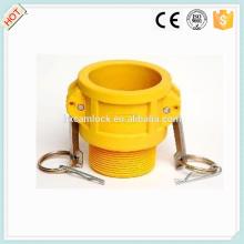 Camlock Nylon coupling type B, cam lock fittings, quick coupling China manufacture