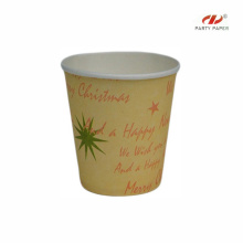 Cheap Company Logo Paper Cup With Christmas Fancy