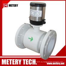 Medidor de caudal magnético digital de la batería