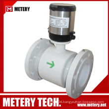 Battery digital magnetic flowmeter flow meter