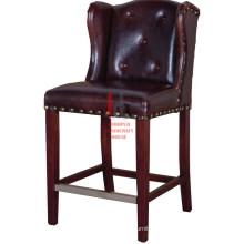 Leather High Bar chair