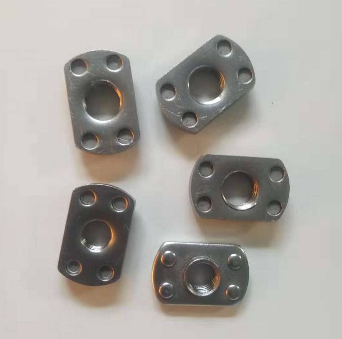 Spot welded Nuts