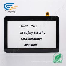 """Ckingway 10.1 """"Проекционный емкостный экран сенсорной панели для медицинской промышленности"""