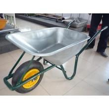 Chariot à main à manivelle à roue forte à horticulture à chargement lourd Wb6414t