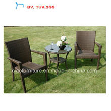 2016 Rattan/Wicker Furniture Coffee Sets in Cofffee Table and Chair