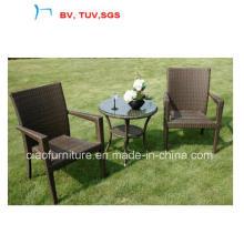 2016 ротанга/плетеная мебель кофейные наборы на стол кофе и стул