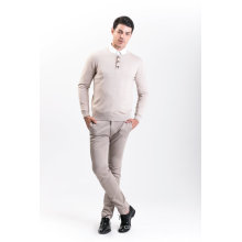 Men′s Fashion Cashmere Blend Sweater 18brawm010