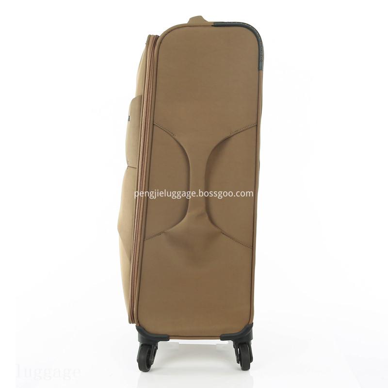 fabric luggage