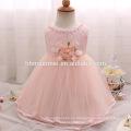 La princesa del arco del tulle del vestido del bautismo del bebé de la alta gama embroma las muchachas de flor de las muchachas se viste para casarse