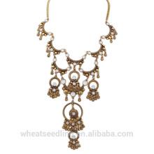 Comprar productos chinos en línea made in China YIWU joyas collar de oro vintage para las mujeres