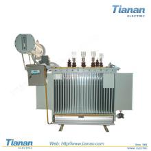 50KVA-2000KVA Poder de distribución de aceite Imerso Transformador / Distribución / Tres fases / Transmisión