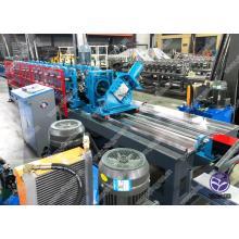 Máquina formadora de rolos de pino e esteira automática