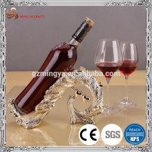 crémaillère à vin en polyresine à la mode pour décoration de table de cuisine