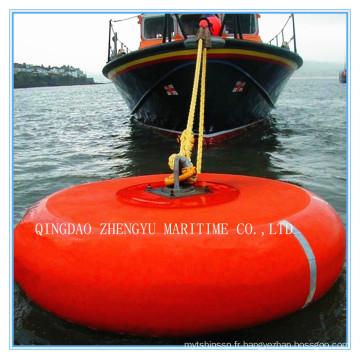 Bouée d'attelage marin