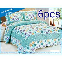 6 Pieces Fresh Cotton Bedding Quilt (set)