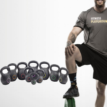 Gym Gear rivestito in polvere Kettlebell