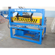 Metal coil steel sheet length cutting machine