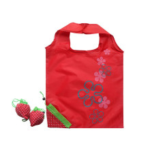 Custom Logo Fruit Shaped Strawberry Drawstring Shopping Bag