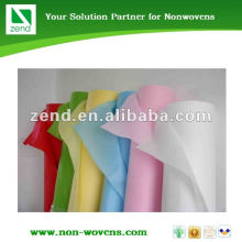 colors nonwoven fabric for shopping bags