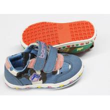 Segeltuch-weiche Baby-Schuhe (SNB-18-004)