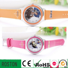 Hot Sale New Cartoon Soft PVC& Silicon Kids Watch