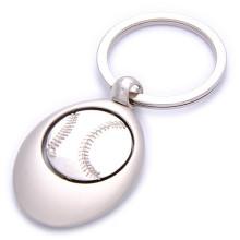 Porte-clés de baseball de sport laser laser avec logo personnalisé (F1234)