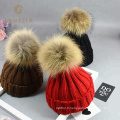 Chaud hiver femme russe réel chapeau de fourrure femmes