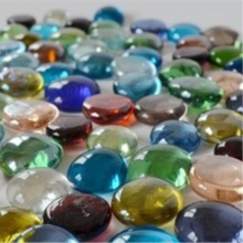 Mixed Colors Glass Nuggets for Glass Crafts