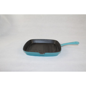 Cast Iron Enamel Dish Pan