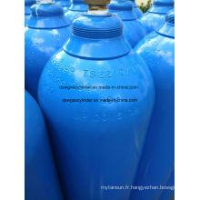 99,9% de gaz N2o rempli dans un cylindre 40L, gaz vol. 20 kg / cylindre