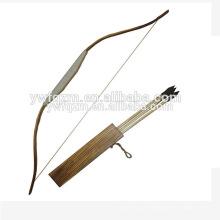 China fábrica direta arco e flechas de arco e flecha de madeira arco composto