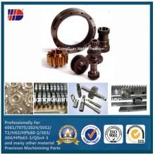 CNC Gerade Zahnstange M4 mit Fabrik Preis (WKC-109)