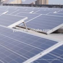 Installation solaire solaire de toit plat de systèmes d'énergie solaire du système 500KW