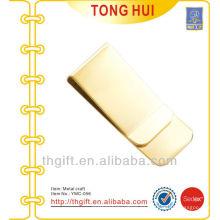 Oro en blanco logotipo Metal clips de dinero de alta calidad