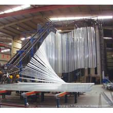 Profil d'extrusion de la clôture en aluminium Aluminium