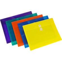 Benutzerdefinierte Farbe elastische String Umschläge Tasche