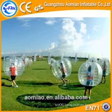 1.0mm TPU bubble soccer, bubble balls pour le football for aduts