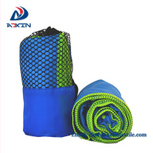 Ultra soft and ultra absorbent suede microfiber towel