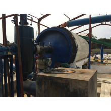 Q345R CE approval waste tyre incinerator equipment to oil machine