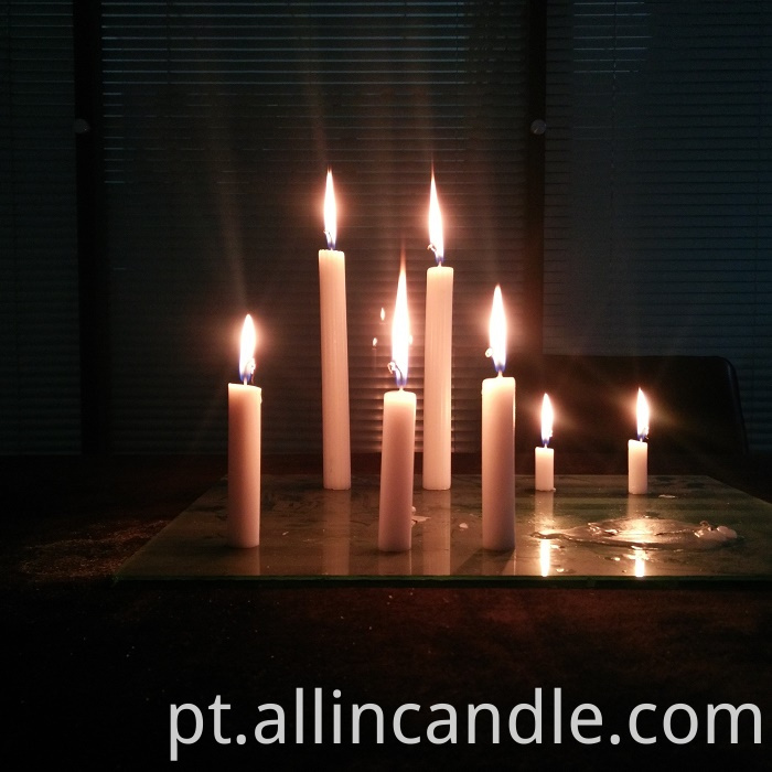 White Candle 54