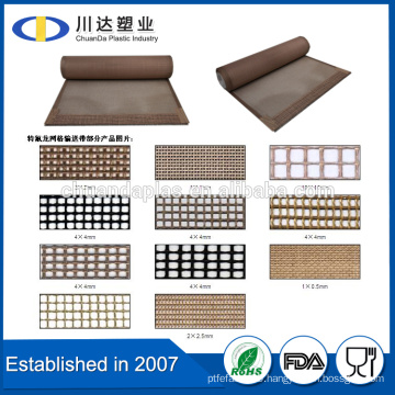 Factroy Best Sales Teflon PTFE Coated Fiberglass Mesh Conveyor Belt For Printing Machine Spare Parts