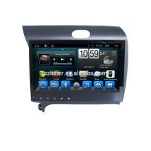 Lecteur DVD de voiture, usine directement! Quad core android pour voiture, GPS / GLONASS, OBD, SWC, wifi / 3g / 4g, BT, lien miroir pour K3