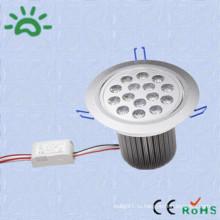 Высокое качество продукции dc12v 24v ac 100v привело потолок downlight 15w